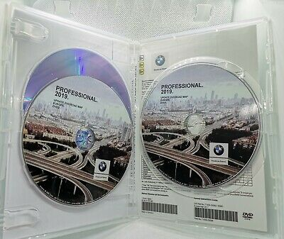 BMW Navigation Road Map Europe PROFESSIONAL 2019 DVD1 + DVD2 + DVD3 mit BLITZER