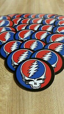 10 Steal Your Face Grateful Dead Stickers. 2 Inch.