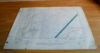 Antique Map original 1911 Lower Leck Ireby Fell Skipton Division Highway OS Map7