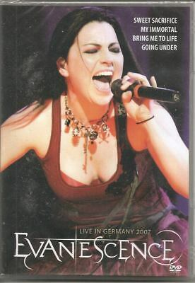 Dvd   Evanescence   Live In Germany  2007    New & Sealed