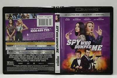 The Spy Who Dumped Me (4K Ultra HD/Blu-Ray,2-Disc Set) FREE Ship Mila Kunis