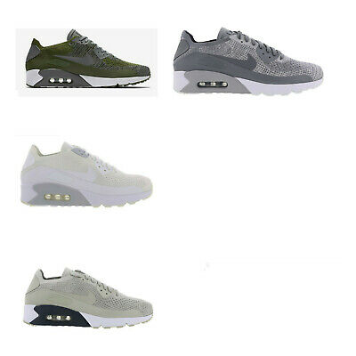 Details about Original Mens Nike Air Max 90 Ultra 2.0 Breathe Trainers Pale Grey 898010002