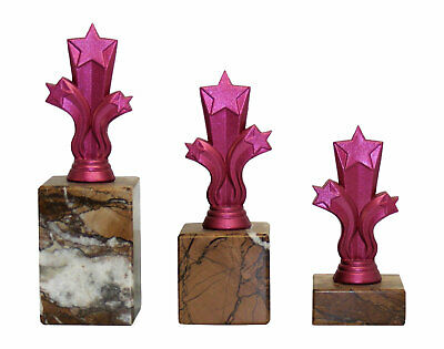 Personalised Pink Micro Shooting Star Trophy Multi Award Engraved