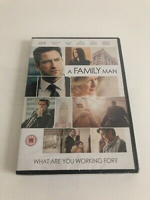 A Family Man (2017) DVD *Brand New & Sealed* Alison Brie & Gerard Butler