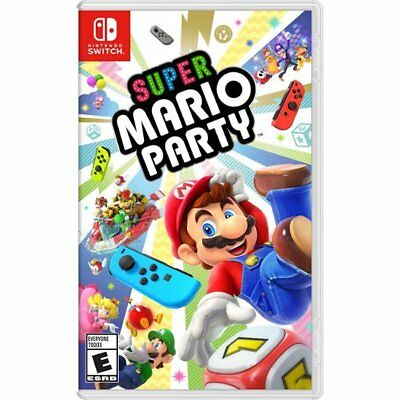 Super Mario Party for Nintendo Switch Brand New! Factory Sealed!