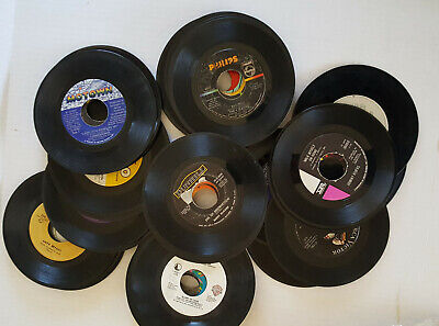 "Huge 53 Piece Lot Of 45 RPM 7"" Single Vinyl Records Elvis 50s 60s 70s"