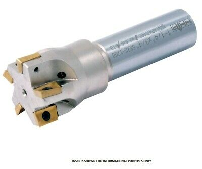 """3//8/"""" SQUARE SHOULDER COOLANT-THRU INDEXABLE END MILL 5822-1601"""