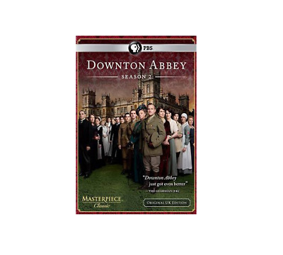 Downton Abbey: Season 2 (DVD, 2012, 3-Disc Set) *New*