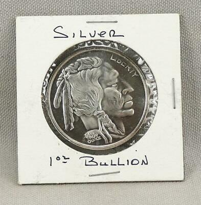 BUFFALO One Ounce Troy .999 Silver Round! No Reserve!