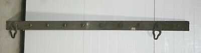 Vintage Heavy Double Steel 5 Ft. Chain Rigging Beam - Many Possibilities!