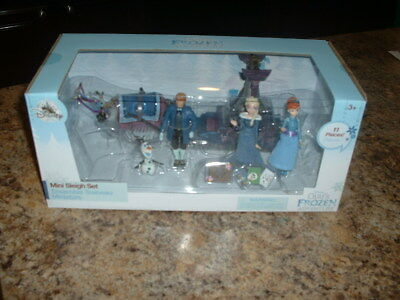 Disney Store Olaf's Frozen Adventure Mini Sleigh Play Set NEW NEVER OPENED