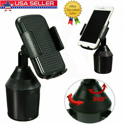 Universal Adjustable Weather-Tech5 Cup Fone Cup Holder Car Mount for Cell Phone