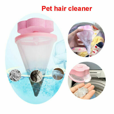 Floating Pet Fur Catcher Laundry Lint& Pet Hair Remover Tool For Washing Machine