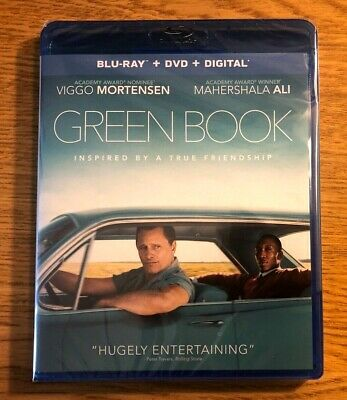 GREEN BOOK (BLU RAY, 2019 + DVD + DIGITAL) New