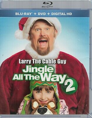 Jingle All the Way 2 (Blu-ray/DVD, 2014, 2-Disc Set)