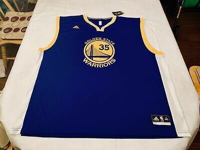 d8147aee613 NWT Kevin Durant Warriors adidas Swingman Blue Home Replica Authentic Jersey  3XL