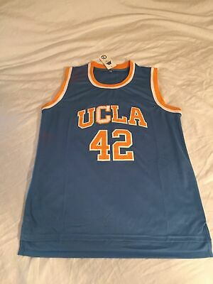 1177f71a9 NWT UCLA Bruins Kevin Love #42 Stitched Blue Yellow Basketball Jersey Men's  M/L