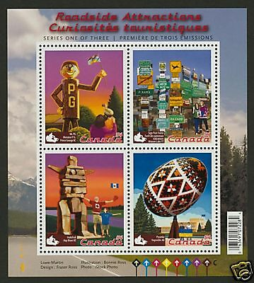 Canada 2335 MNH Roadside Attractions, Inukshuk, Egg