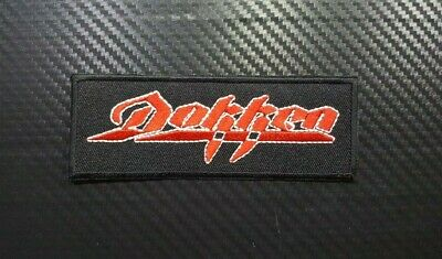POISON Logo Glam Rock Bret Michaels Sew//IRON ON EMBROIDERED PATCH NEW