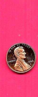 Us Usa Lincoln Memorial Penny 1984-S Uncirculated-Unc Mint-Proof Coin
