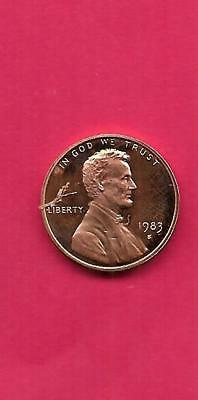 1983 S LINCOLN Memorial *Proof* Cent / Penny **Free Shipping