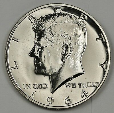 1964 John F. Kennedy Half Dollar.  Proof.  134393