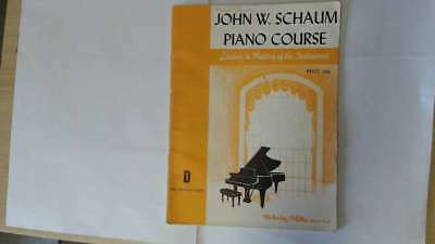 Good - John W.Schaum Piano Course.The Orange Book. - John W.Schaum Not stated Mu