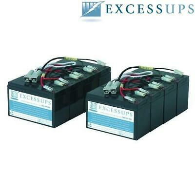 New Battery Set for APC Smart UPS 2200 Rack Mount 3U SU2200R3X152 SU2200R3X152 Compatible Replacement by UPSBatteryCenter