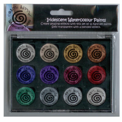 Cosmic Shimmer Iridescent Watercolour Paint Palette - Christmas Colours