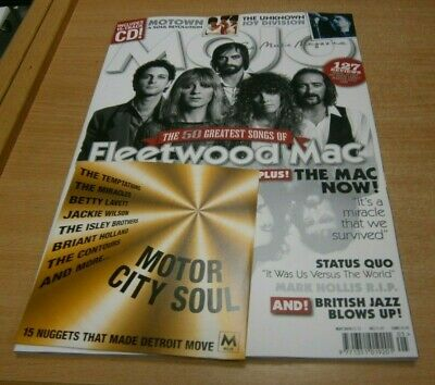 Mojo magazine MAY 2019 Fleetwood Mac, Motown, Joy Division, Status Quo + CD