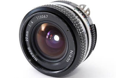 【EXCELLENT++++】 NIKON Ai NIKKOR 20mm f/4 MF wide angle Lens from Japan #237