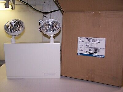 New Thomas & Betts 6 Volt Wall Mounted Emergency Back-Up Light 2Pg2/l9-M