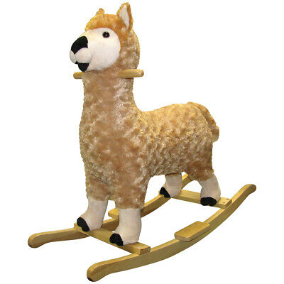 Charm Co. Lorenzo Llama Rocker Battery Operated Noises, for 24 Months and Up