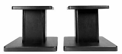 Pair Rockville RHT8G Computer/Bookshelf Desktop Speaker/Studio Monitor Stands