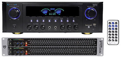 Technical Pro RX45BT Home Theater Receiver Bluetooth USB+Dual 31 Band Equalizer