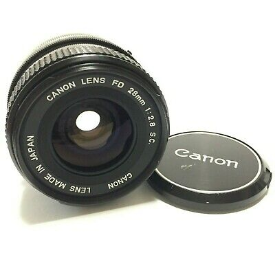 【Near Mint】Canon FD 28mm F2.8 S.C.SC MF Wide Angle Lens  from Japan 15