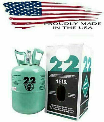 R-22 R 22 Refrigerant 10lb Tank,  Made in USA *Lowest Price on Ebay*