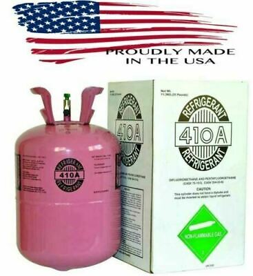 R410a, R410a Refrigerant 25lb tank. New Factory Sealed **Lowest Price on Ebay**