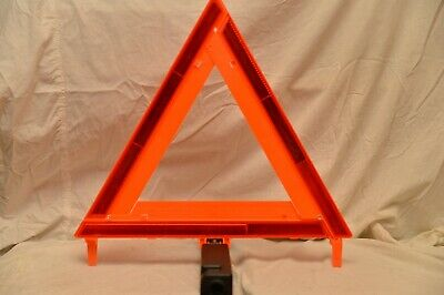 (3) High Visibility Triangle Emergency Warning Kit Made In Usa Dot Safety