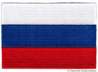 RUSSIAN FEDERATION FLAG PATCH RUSSIA EMBROIDERED EMBLEM iron on applique Россия