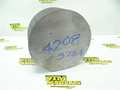 "Solid Steel Round Stock 3-3/4"" X 7-1/4"" # 4208 / 5784"