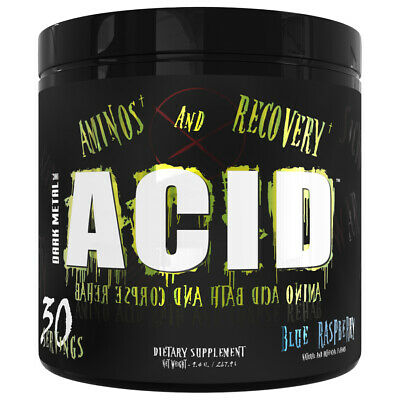 Dark Metal Inc - Acid - Bcaa - Recovery - 30 Servings - Choose Flavor -