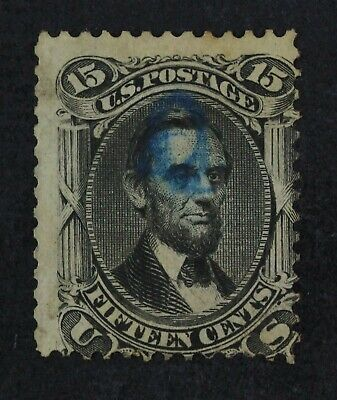 CKStamps: US Stamps Collection Scott#98 15c Lincoln Used CV$275