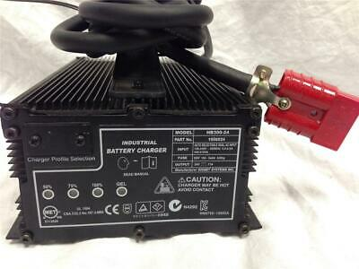Tennent Signet Systems Battery Charger HB300-24 Forklift
