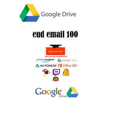 UNLIMITED GOOGLE DRIVE STORAGE NOT EDU DOMAIN 100% SECURE ON EXISTING ACC gift