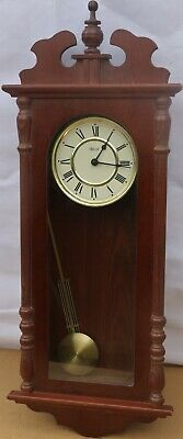 Lovely Looking Modern Hermle Battery Run Chiming Wall Clock