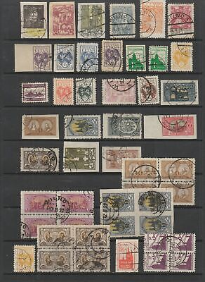Central Lithuania mostly fine used collection, 48 stamps