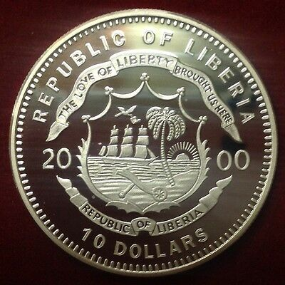 2000 $10 Republic Of Liberia