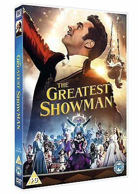 The Greatest Showman Musical Hugh Jackman Hit Film Movie DVD UK Free P&P New
