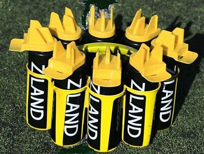 8 Bottle Team Sports Drinks Water Carrier & 8 Hybrid Bottles,